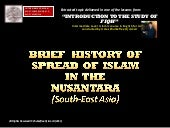 Brief history of spread of islam