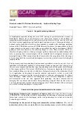 GCARD2: Synthesis Briefing Paper National Food Security