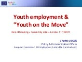 Youth Employment and Youth on the Move