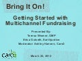 Bring It On! Getting Started with Multichannel Fundraising