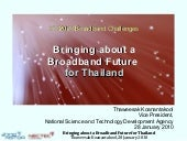 Bringing About A Broadband Future F...