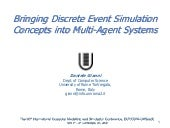Bringing discrete event simulation ...