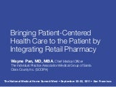 Bringing patient centered health ca...