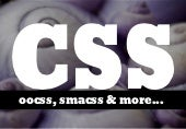 CSS - OOCSS, SMACSS and more