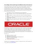 Oracle Billing and Revenue Management (BRM) consulting and development