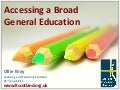 CfE Broad General Education Conference - What digital skills do learners need to access the curriculum?