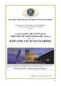 Brochure Decennale Kiwanis Club San Marino