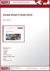 Global Retail Trends 2010 by yStats...