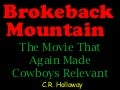 Brokeback Mountain Memories
