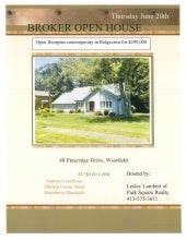 Broker open 48 Pineridge Drive, Westfield, MA 01085