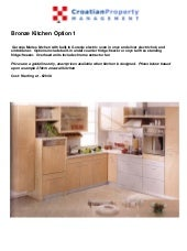 Bronze  Kitchen  Brochure