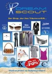 "BROCHURE ""DREAMSCOUT"""