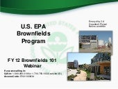 Brownfields Program and Grant Overview