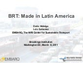 BRT: Made in Latin America