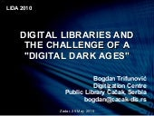 DIGITAL LIBRARIES AND THE CHALLENGE...