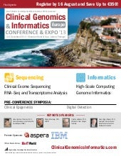Clinical Genomics & Informatics Eur...