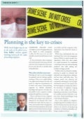 Planning is the key to crises-Business Travel Risk Management