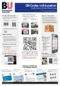 QR codes in education: The Business School experience