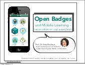 Mobile Learning & Open Badges