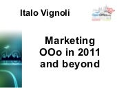Marketing OOo in 2011 and beyond