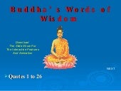 Buddha\'s Words Of Wisdom