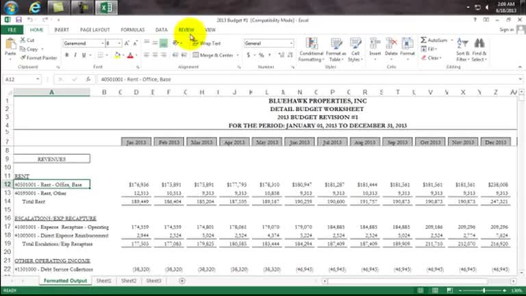 Nice Cam Reconciliation Templates For Excel