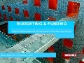 Budgeting and Funding - Lecture for Preservation & Presentation of the Moving Image Master (2012)