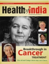 Biography of Dr. Johanna Budwig in Health of India (Covery Story)