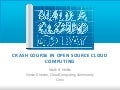 Build a Cloud Day SF - Crash Course on Open Source Cloud Computing