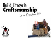 Build Lifecycle Craftsmanship for the Transylvania JUG