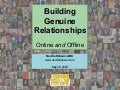 Building Genuine Relationships