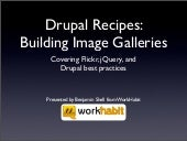 Drupal Recipes: Building Image Gall...