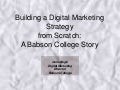 Building a Digital Marketing Strategy from Scratch