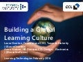 Building a Global Learning Culture: (LT16)