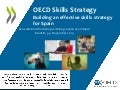 Building an Effective Skills Strategy for Spain – Consultation Workshop with Regional Governments