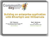 Building an enterprise app in silve...