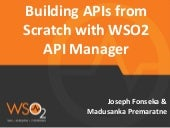 Building APIs From Scratch with WSO2 API Manager