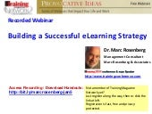 Building a Successful e Learning St...