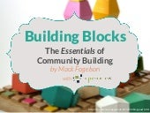 The Essentials of Community Building by Mack Fogelson