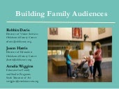Building family audiences mpma 2012...