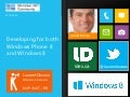 Building apps for WP8 and Win8