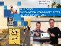 Building innovation community sites in sharepoint 2013
