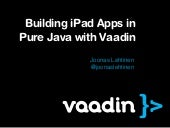 Building i pad apps in pure java wi...