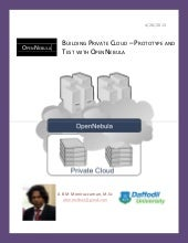 Build a private cloud – prototype a...