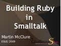 Building Ruby in Smalltalk