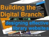 King: Building the Digital Branch Workshop