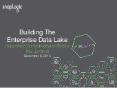 Building the Enterprise Data Lake - Important Considerations Before You Jump In