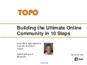 Building the Ultimate Online Commun...