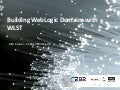 Building WebLogic Domains With WLST