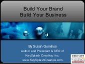 Build Your Brand and Your Business ...